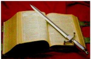 i bring a sword