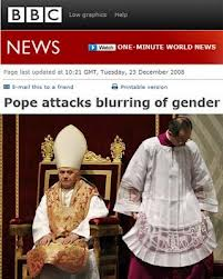 pope and gender
