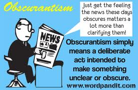 Obscurantism